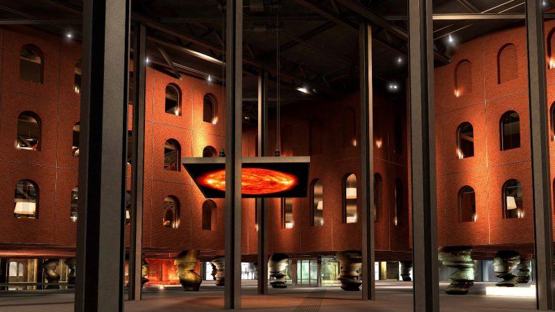 Alhóndiga di Bilbao, progettata da Philippe Starck