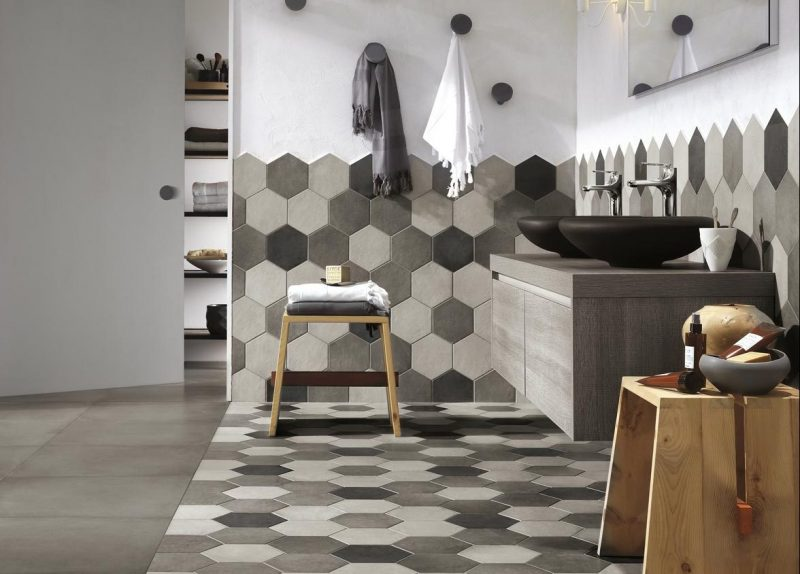 Geometric Patterns and Optical Style: Cementine tiles are back on ...