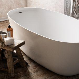 Vasca da bagno: com'è cambiato il design con l'utilizzo dei materiali di nuova generazione?