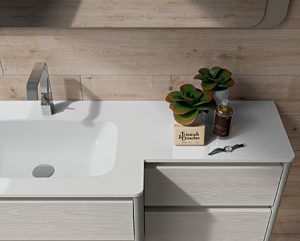 Arredo Bagno Chiaro_Frassino Bianco
