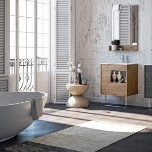 Doppeltes Waschbecken für das Bad: von der Luxusversion zur zweckmäßigen Lösung