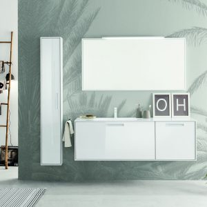 How to choose white bathroom units
