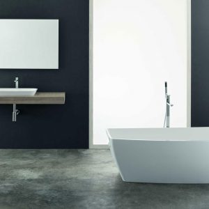Gray bathroom: ideas and inspirations
