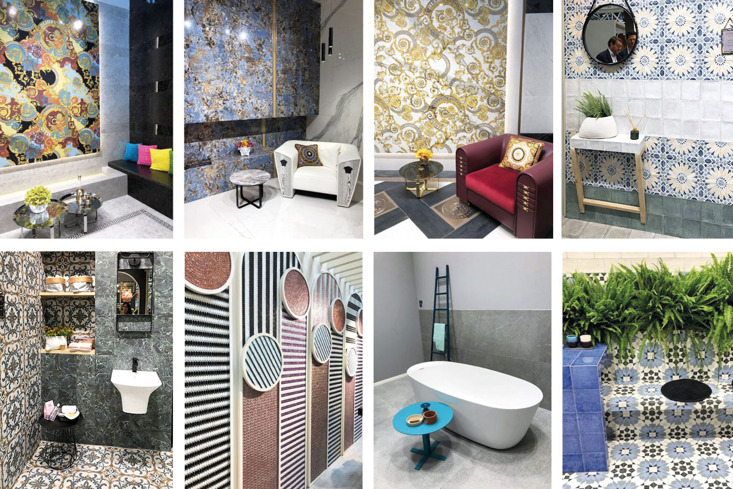 The latest bathroom trends from Cersaie
